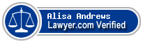 Alisa G Andrews  Lawyer Badge