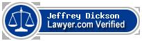 Jeffrey T. Dickson  Lawyer Badge