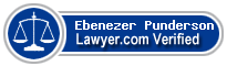 Ebenezer Punderson  Lawyer Badge