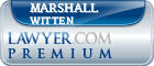 Marshall R. Witten  Lawyer Badge