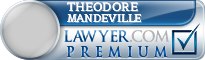Theodore Mandeville  Lawyer Badge