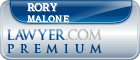 Rory O Malone  Lawyer Badge