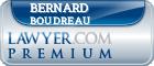 Bernard J. Boudreau  Lawyer Badge