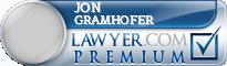 Jon L. Gramhofer  Lawyer Badge