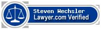 Steven W Wechsler  Lawyer Badge
