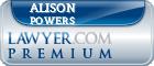 Alison L T Powers  Lawyer Badge