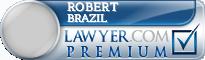 Robert A. Brazil  Lawyer Badge