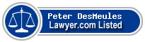 Peter DesMeules Lawyer Badge