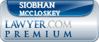 Siobhan M McCloskey  Lawyer Badge