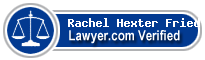 Rachel A. Hexter Fried  Lawyer Badge