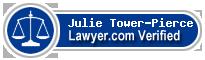 Julie A. Tower-Pierce  Lawyer Badge