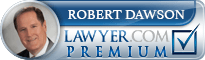 Robert Richard Dawson  Lawyer Badge