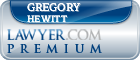 Gregory A. Hewitt  Lawyer Badge