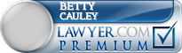 Betty Kay Cauley  Lawyer Badge