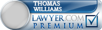 Thomas F. Williams  Lawyer Badge