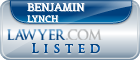 Benjamin Lynch Lawyer Badge