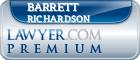 Barrett Rives Richardson  Lawyer Badge
