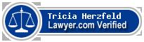 Tricia Ruth Herzfeld  Lawyer Badge