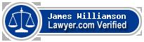 James Larry Williamson  Lawyer Badge