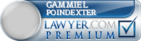 Gammiel G. Poindexter  Lawyer Badge