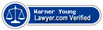 Warner Franklin Young  Lawyer Badge