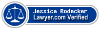 Jessica Rodecker  Lawyer Badge