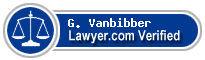 G. Wayne Vanbibber  Lawyer Badge