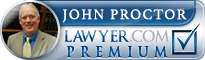 John Anderson Proctor  Lawyer Badge