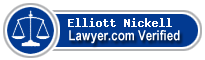 Elliott John Nickell  Lawyer Badge