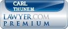 Carl Abbott Thunem  Lawyer Badge