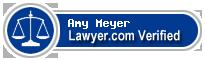 Amy K. Meyer  Lawyer Badge
