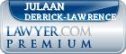 Julaan Derrick-Lawrence  Lawyer Badge