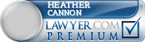 Heather Michelle Cannon  Lawyer Badge