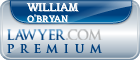 William M. O'Bryan  Lawyer Badge