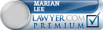 Marian Hornsby Lee  Lawyer Badge