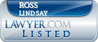 Ross Lindsay Lawyer Badge