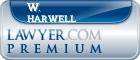 W. Baxter Harwell  Lawyer Badge