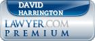 David Frederick Harrington  Lawyer Badge
