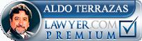 Aldo Terrazas  Lawyer Badge