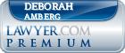 Deborah A Amberg  Lawyer Badge