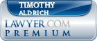 Timothy Aldrich  Lawyer Badge