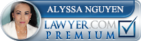 Alyssa Nguyen  Lawyer Badge