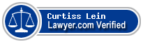 Curtiss Norman Lein  Lawyer Badge