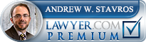 Andrew W. Stavros  Lawyer Badge