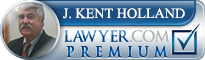 DUI UTAH J. Kent Holland Law  Lawyer Badge