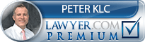 Peter A Klc  Lawyer Badge