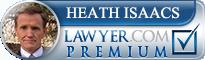 Heath S. Isaacs  Lawyer Badge