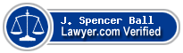 J. Spencer Ball  Lawyer Badge