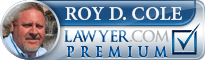 Roy D Cole  Lawyer Badge