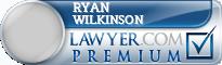 Ryan B Wilkinson  Lawyer Badge